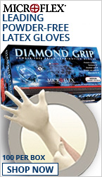 MICROFLEX DIAMOND GRIP GLOVES