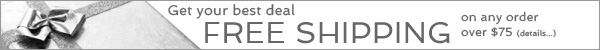 Free Shipping Orders Over $75