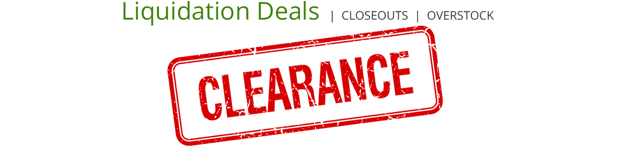 Shop for Clearance Deals