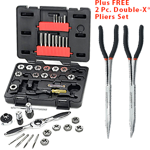 40 Piece GearWrench Tap and Die Set Metric