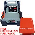 Jump Starter/DC Power Source, 2200 Peak Amps, 330 Cranking Amps 275 Cold Cranking Amps