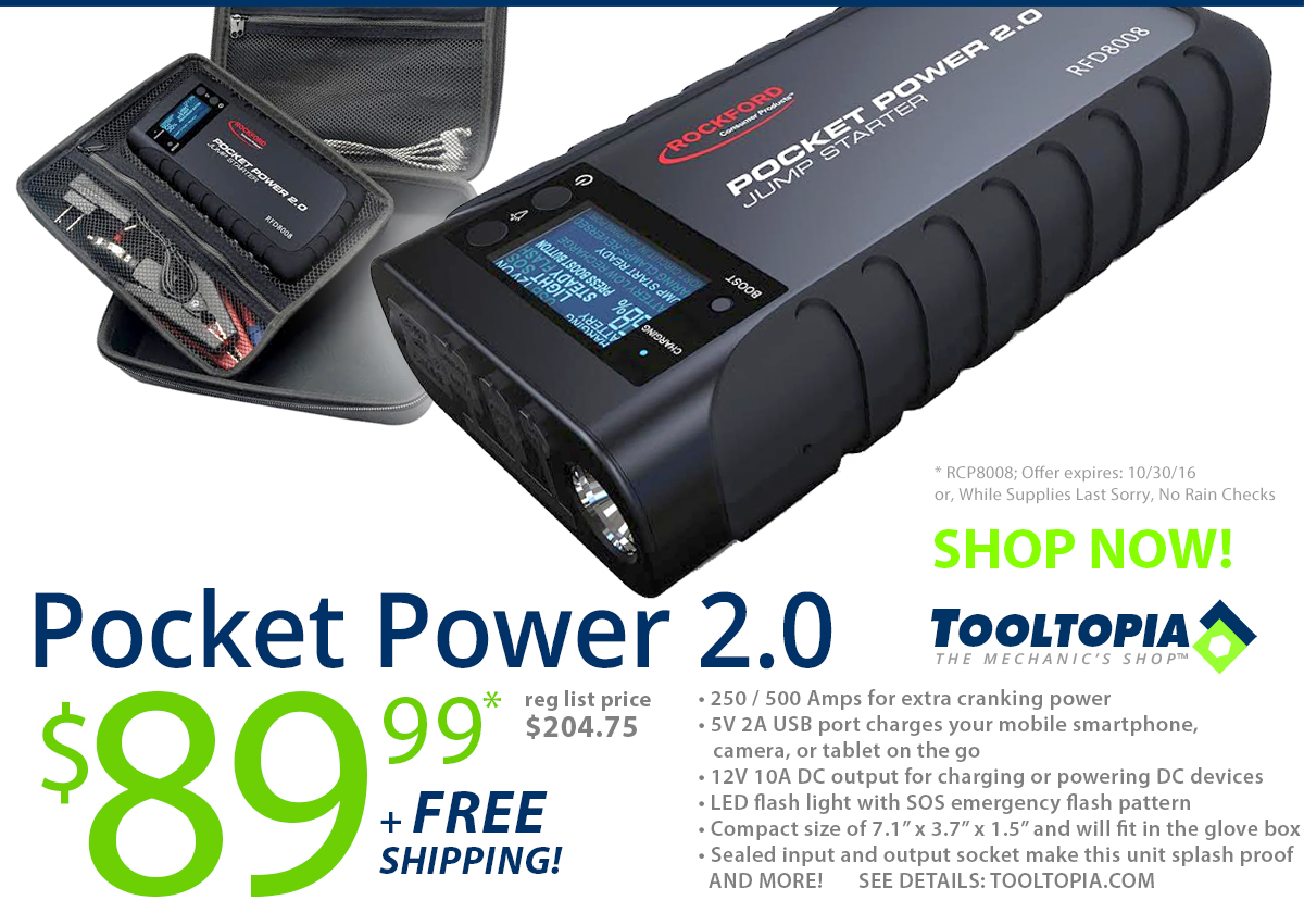 TODAY'S POWER DEAL